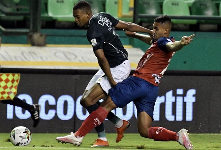 Deportivo Independiente Medellín, DIM, DaleRojo, Copa Colombia 2021, Deportivo Cali, formaciones