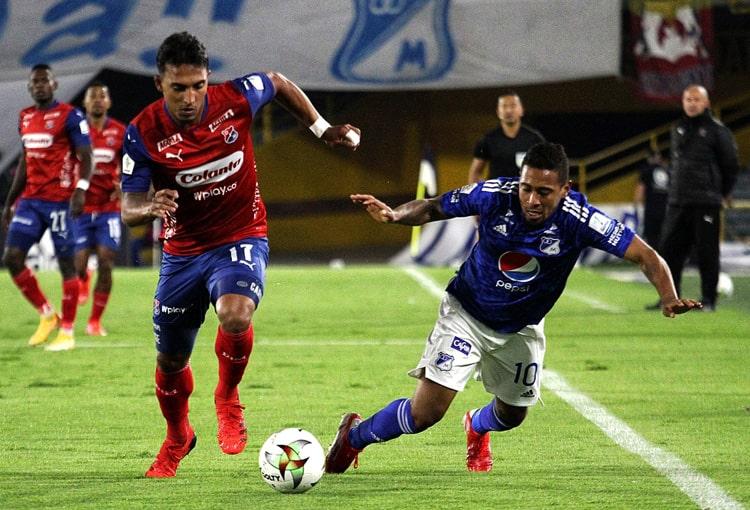 Deportivo Independiente Medellín, DIM, DaleRojo, Liga BetPlay 2021-II, Millonarios FC, ficha técnica