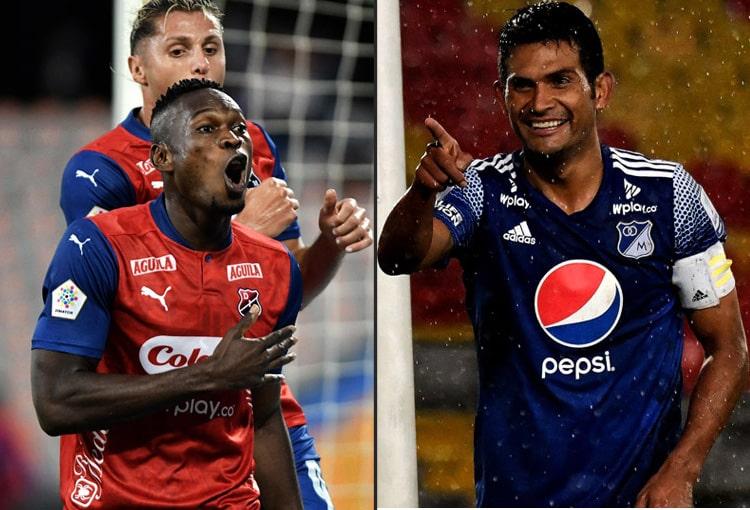 Deportivo Independiente Medellín, DIM, DaleRojo, Liga BetPlay 2021-II, Millonarios FC, formaciones