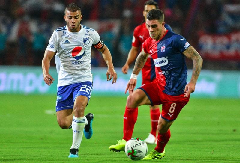 Deportivo Independiente Medellín, DIM, DaleRojo, Liga BetPlay 2021-II, Millonarios FC, historial