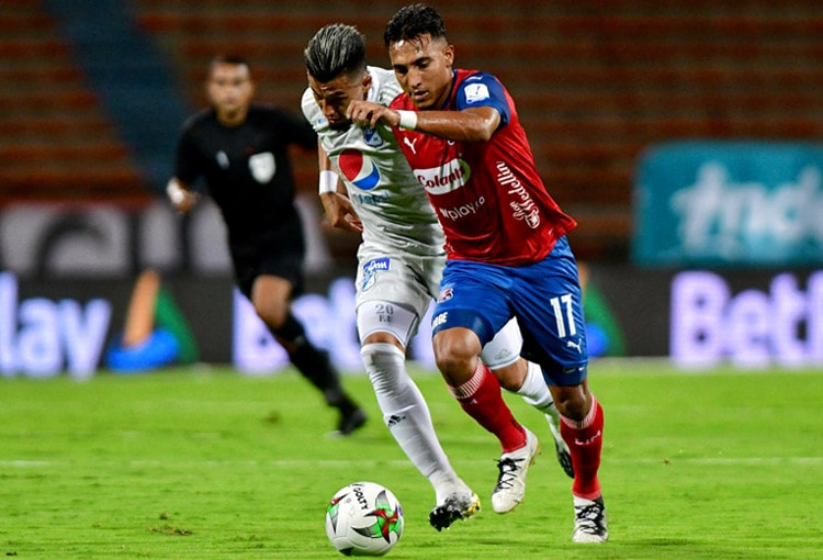 Deportivo Independiente Medellín, DIM, DaleRojo, Liga BetPlay 2021-II, Millonarios FC, programación