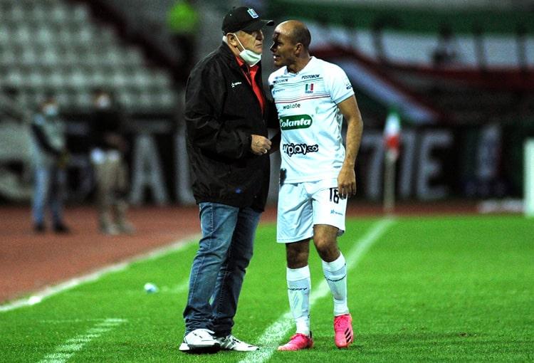 Eduardo Lara, Once Caldas, Copa Colombia 2021, Liga BetPlay 2021-II