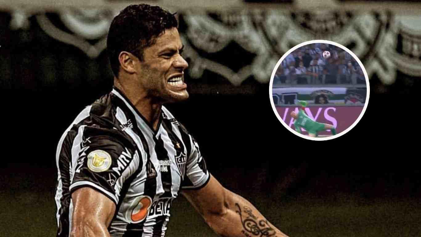 Hulk sigue haciendo de las suyas en la Copa Libertadores golazo ante River
