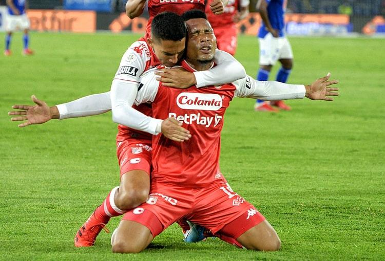 Independiente Santa Fe, Atlético Bucaramanga, Copa Colombia 2021, formación