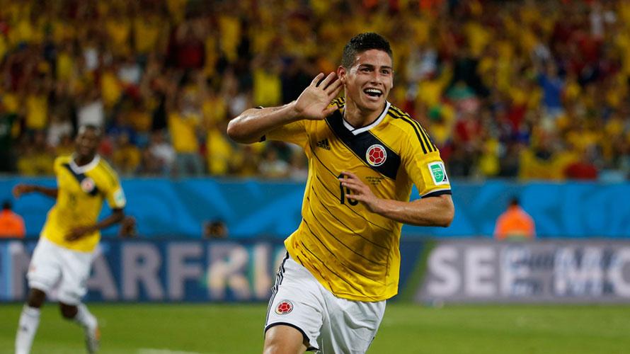 ¿Hasta el VAR extrañó a James Rodríguez en partido Colombia vs. Ecuador?