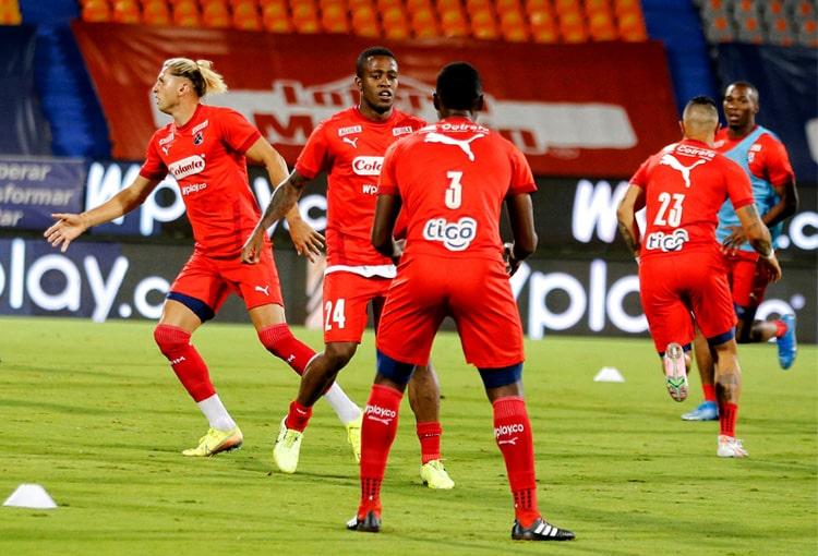 Juan David Mosquera, Deportivo Independiente Medellín, DIM, DaleRojo, Liga BetPlay 2021-II, Copa Colombia 2021, Selección Colombia