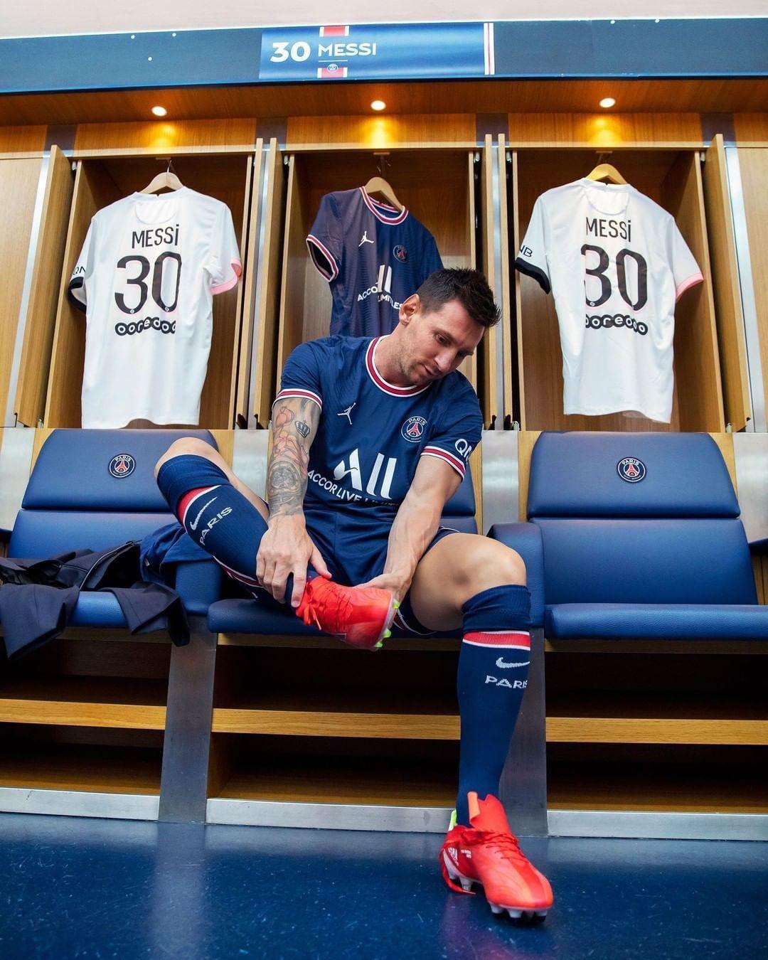 Todo listo para el debut de Lionel Messi con el PSG