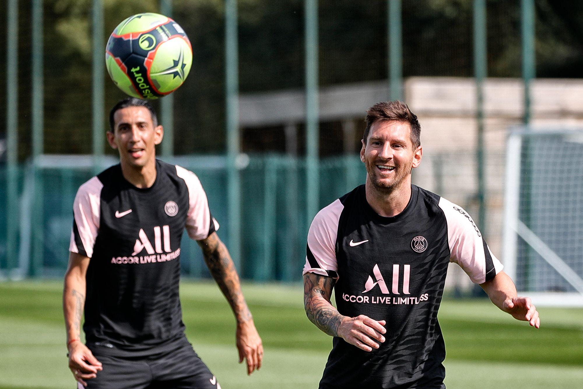 Así fue el primer entrenamiento de Lionel Messi con el PSG
