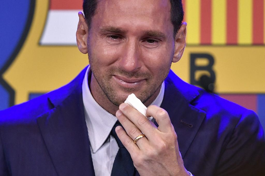 ¿Qué ha pasado con la subasta del pañuelo en el que lloró Lionel Messi?