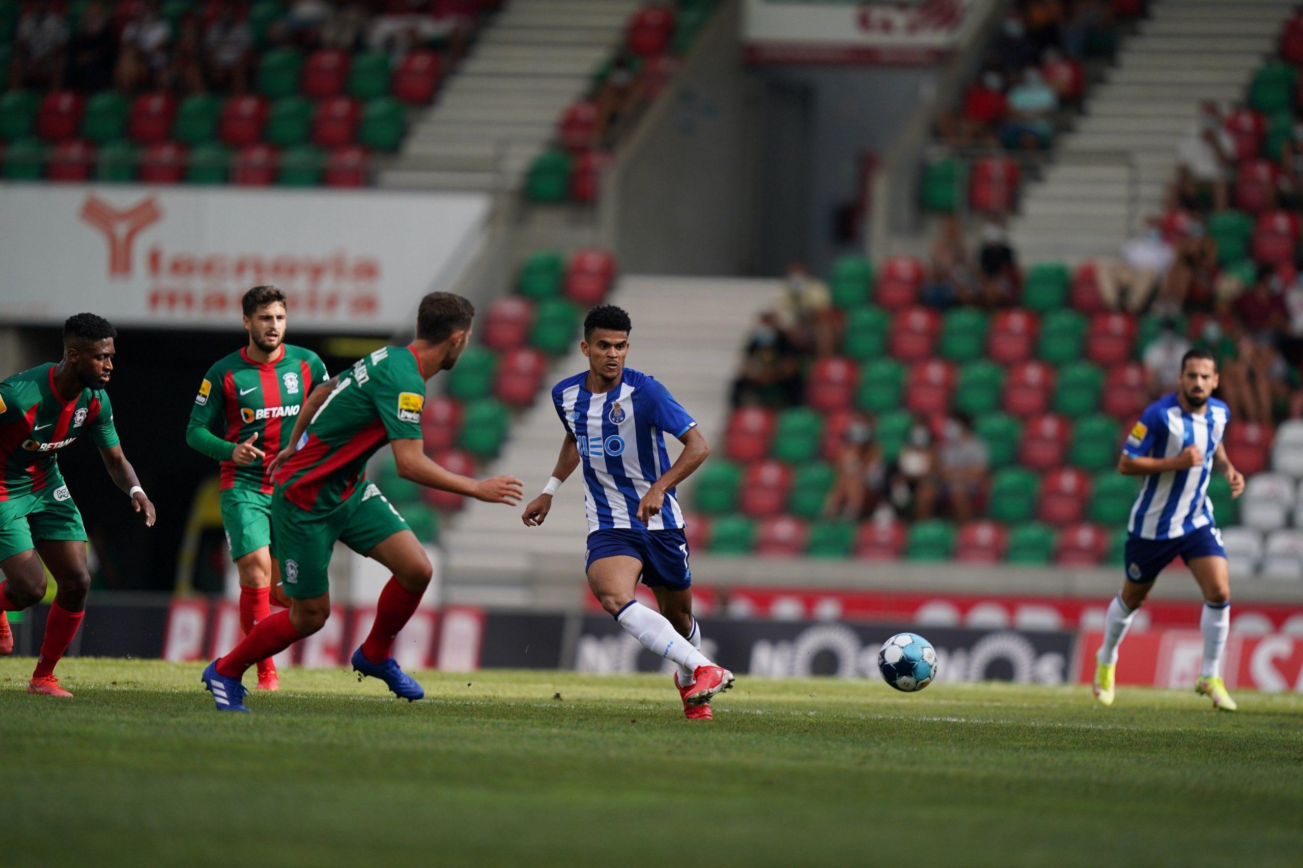 Luis Díaz para la historia del Porto: anotó en su partido número 100