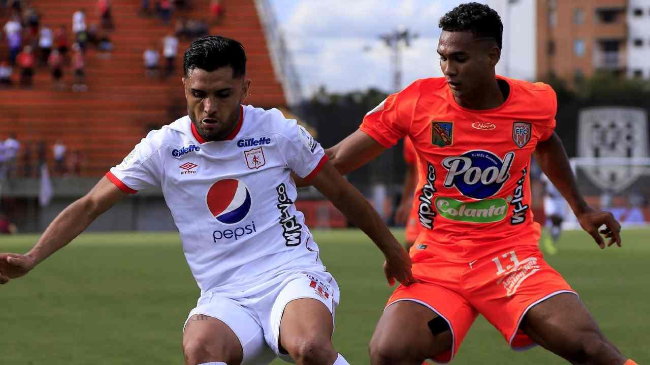 Llegó la primera derrota para el América de Osorio en la Liga BetPlay