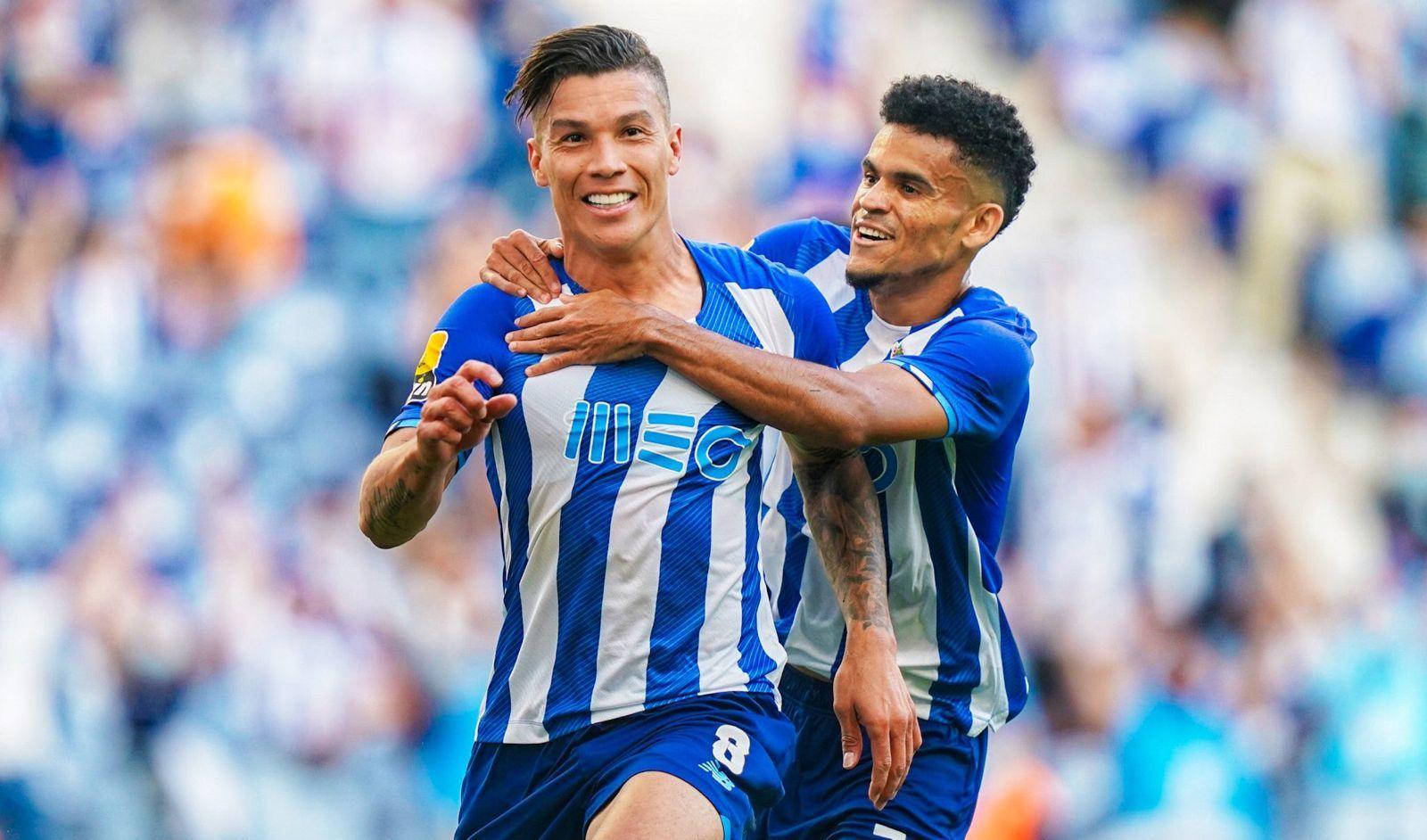 Luis Díaz y Matheus Uribe tienen conquistado a Portugal con el FC Porto