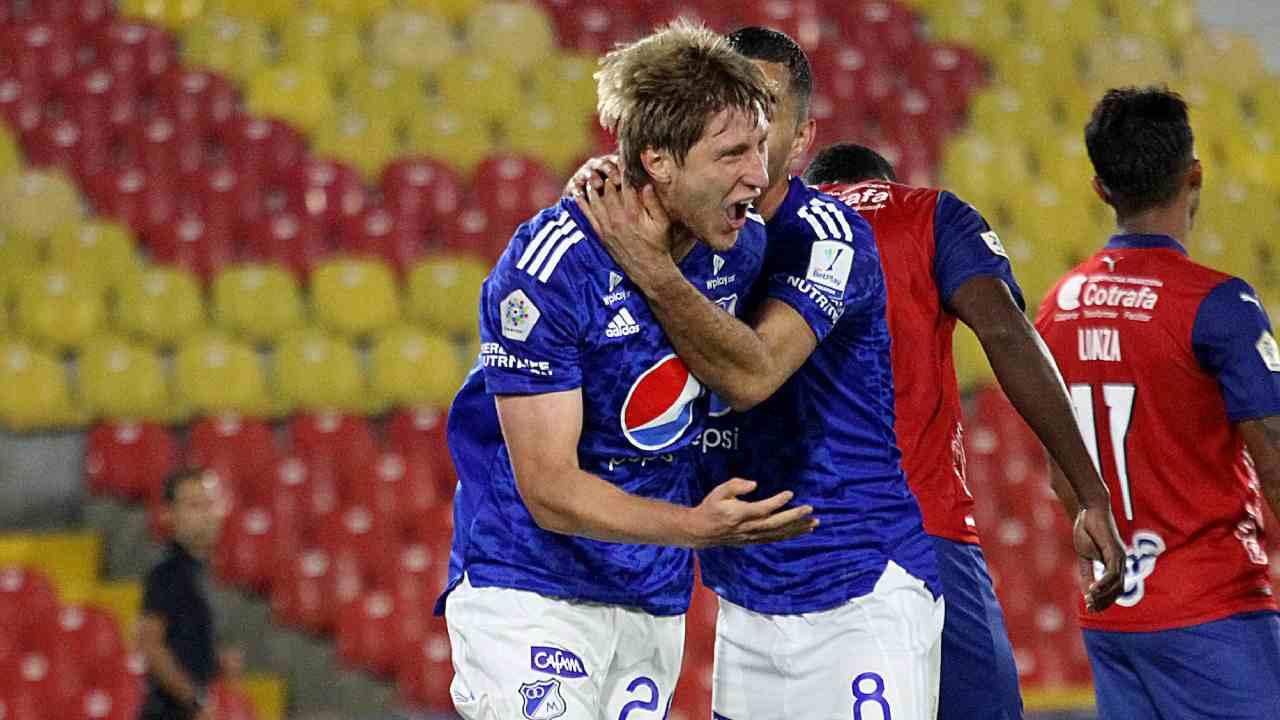 Millonarios Andrés Llinás y el primer gol en Liga BetPlay de su carrera
