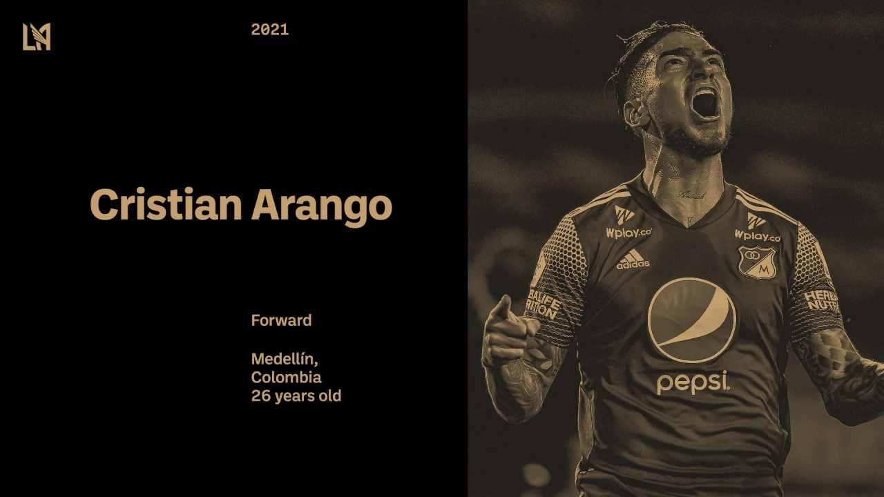 Oficial LAFC hizo el anuncio sobre el jugador Cristian Arango