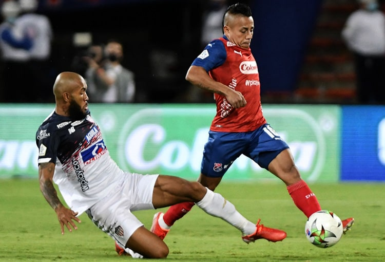 Vladimir Hernández, Deportivo Independiente Medellín, DIM, DaleRojo, Liga BetPlay 2021-II, América de Cali