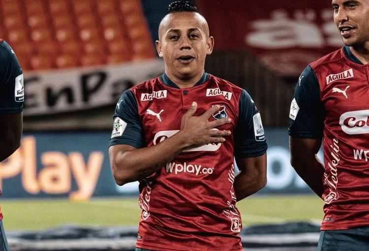 Vladimir Hernández, Deportivo Independiente Medellín, DIM, DaleRojo, Liga BetPlay 2021-II, Millonarios FC