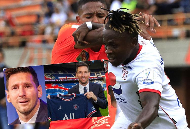 Déinner Quiñones y su indirecta por el fichaje de Messi en PSG