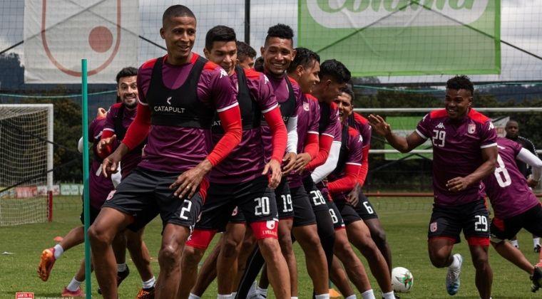 Santa Fe: Novedades, convocados y posible formación para enfrentar a Atlético Nacional