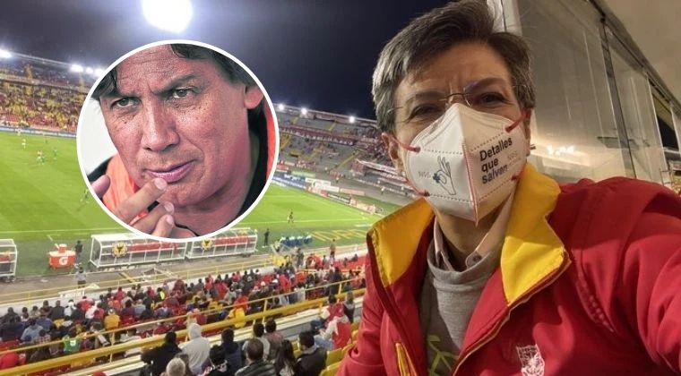 Fuertes insultos de Eduardo Pimentel contra Claudia López tras medidas al fútbol en Bogotá