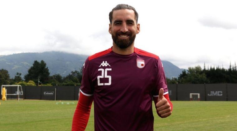 Matías Castro ya luce la camiseta de Santa Fe: ¿Debutará ante Millonarios?