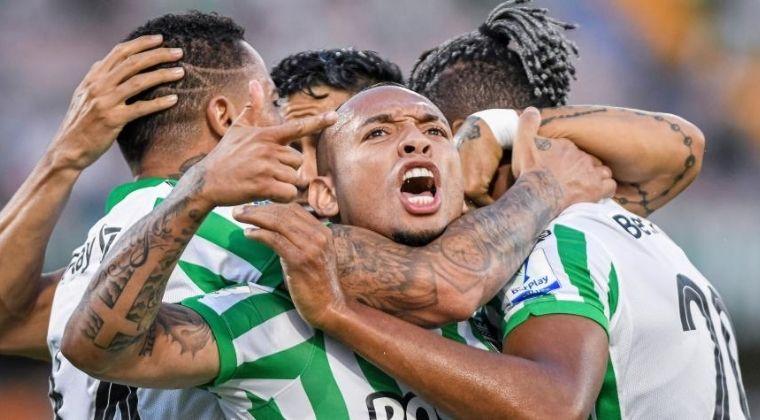 ¿Qué gritaba Jarlan Barrera en la celebración del gol de Álvez contra Deportivo Cali?