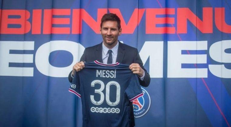 """Las primeras palabras de Lionel Messi con el PSG: """"Mi sueño es levantar otra Champions"""""""