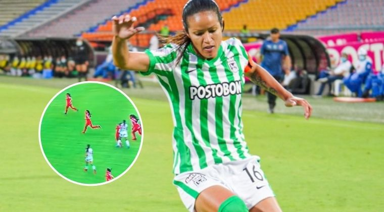 """DT de Atlético Nacional Femenino sobre el puñetazo de Lady Andrade: """"No hay mala intención"""""""
