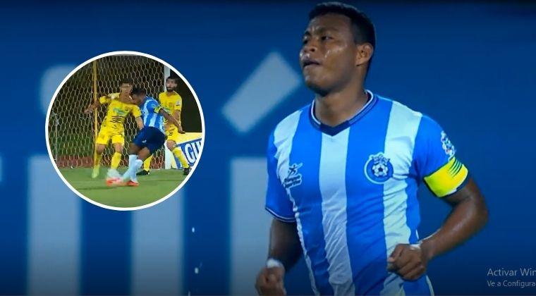 ¿El gol del año en el fútbol colombiano?