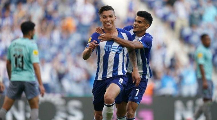Gol de Matheus Uribe y asistencia de Luis Díaz en la goleada de Porto al Arouca