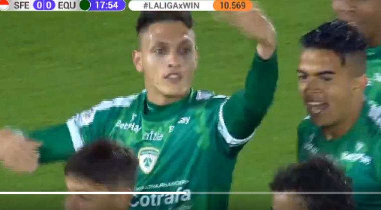Error grosero de Fainer Torijano para gol de Diego Valdés y la 'ley del ex' ante Santa Fe