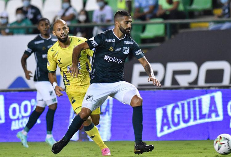 Deportivo Cali: ¿Empujón de Wilmar Roldán a Hernán Menosse?