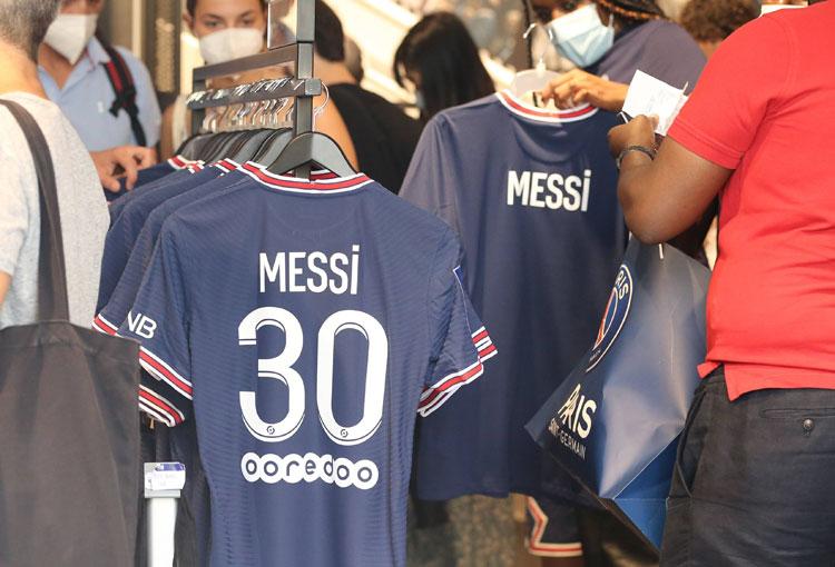¡Increíble Récord! ¿Cuántas camisetas de Messi ya vendió el PSG?