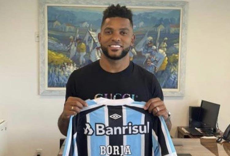 ¡Anuncio inminente! Miguel Borja ya luce una nueva camiseta
