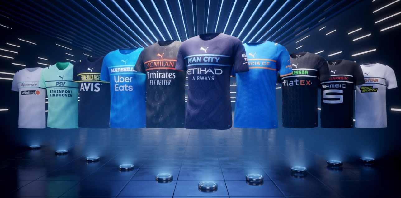 PUMA revoluciona con nuevos diseños para clubes europeos