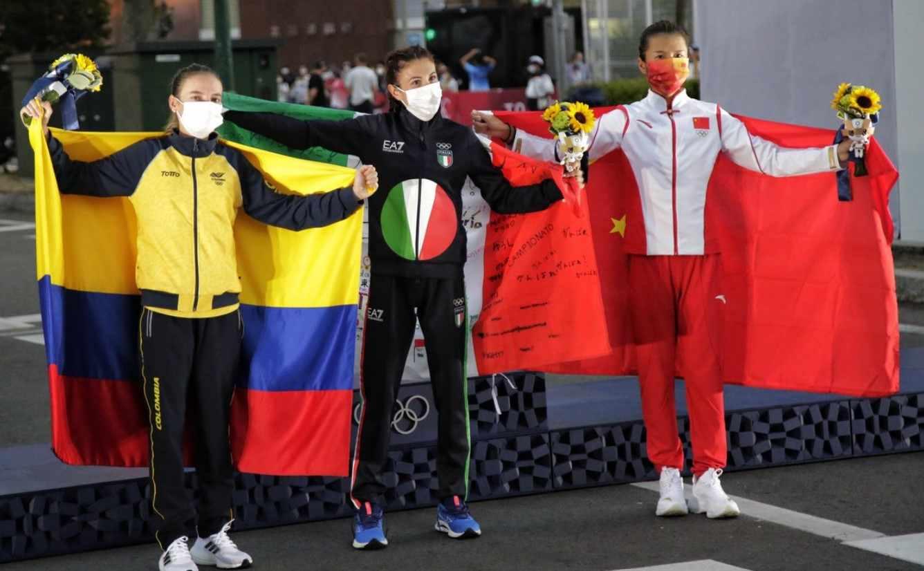 Dinero que gana Sandra Lorena Arenas, medalla de plata en Tokio 2020