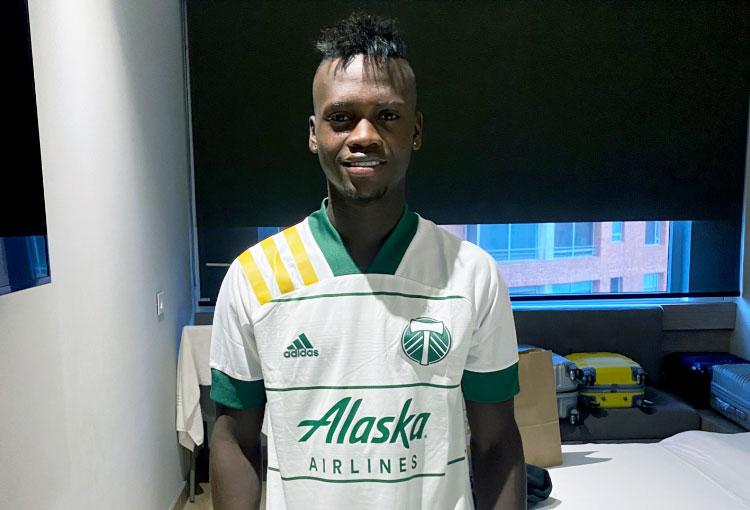 Santiago Moreno ya viste la camiseta de Portland Timbers