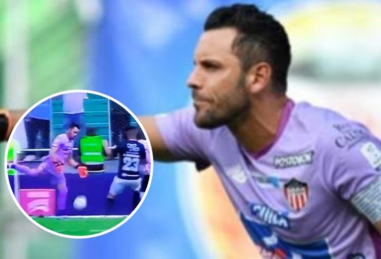 Sebastián Viera y su mensaje tras el blooper ante Deportivo Cali