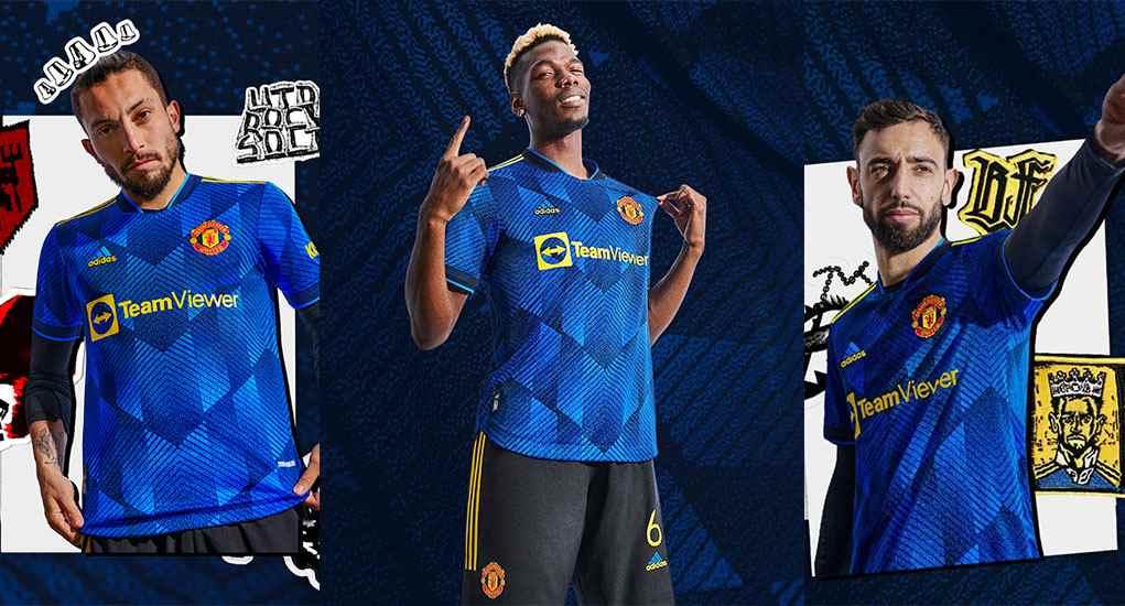 tercera camiseta del manchester united uniforme