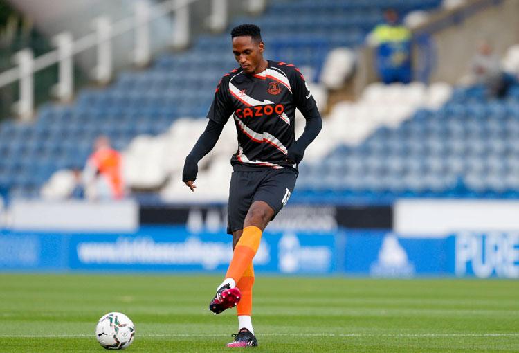 Everton avanza en la EFL Cup sin necesitar a Yerry Mina