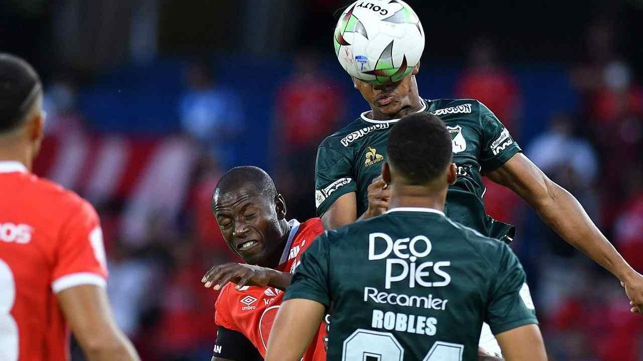 Adrián Ramos salvó un empate ante Deportivo Cali en la Copa BetPlay