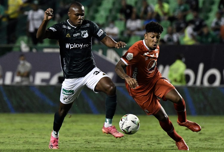 América de Cali, Deportivo Cali, Atlético Nacional, Deportivo Independiente Medellín, DIM, Millonarios FC, Liga BetPlay 2021-II, fecha 9