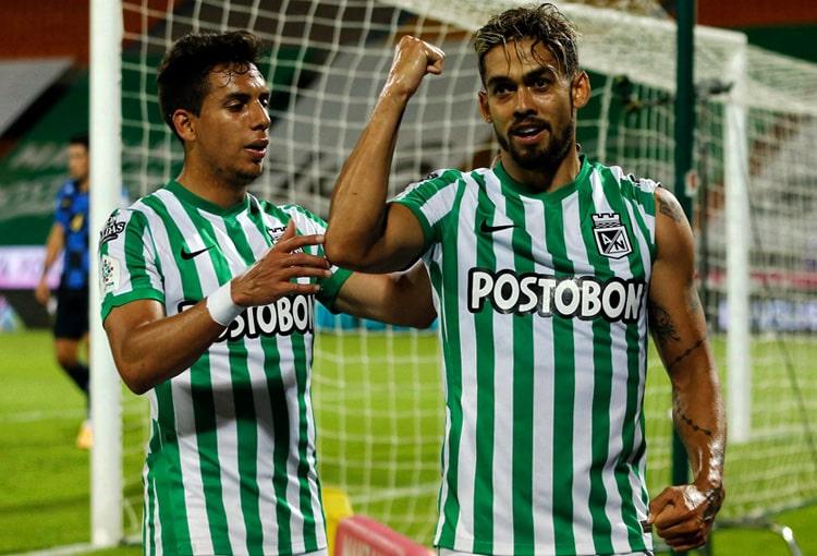Andrés 'Rifle' Andrade, Andrés Andrade, Rifle Andrade, Atlético Nacional, Independiente Santa Fe, Copa BetPlay 2021