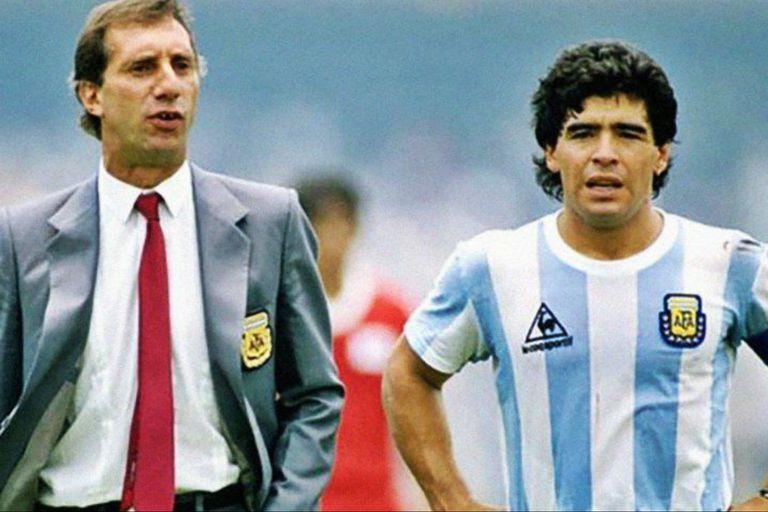 Ya hay plan para contarle a Carlos Bilardo sobre la muerte de Diego Maradona