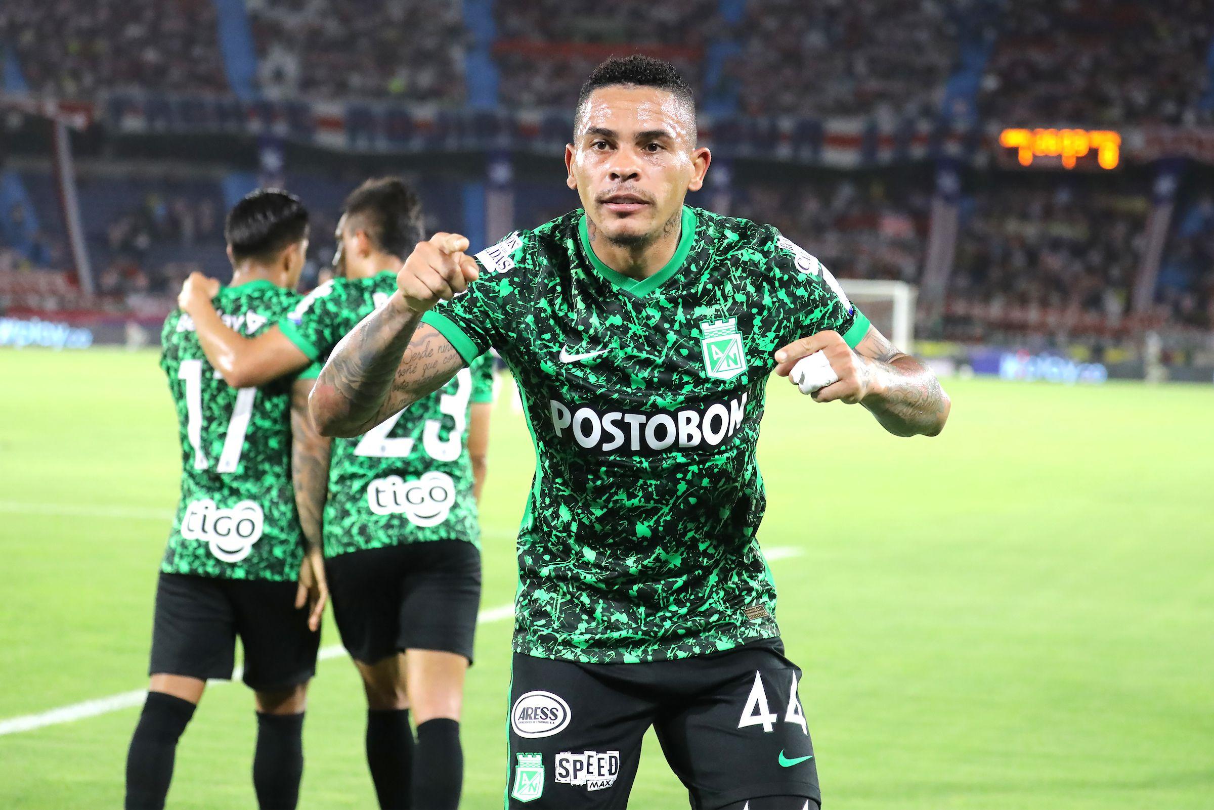 Tercer doblete de Jonatan Álvez con Atlético Nacional: segundo por Liga