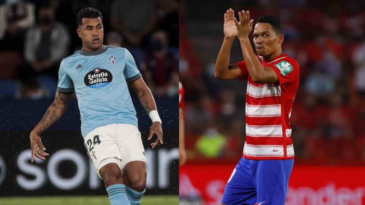 Bacca y Suárez no pudieron con la defensa de Jeison Murillo