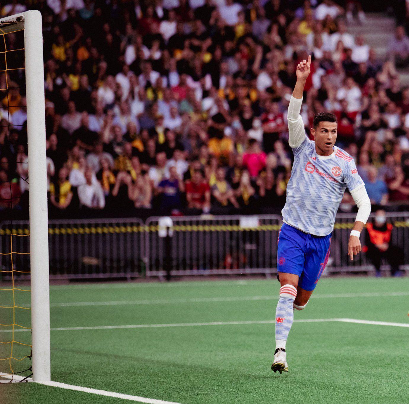 Cristiano Ronaldo y un nuevo récord que igualó en Champions League