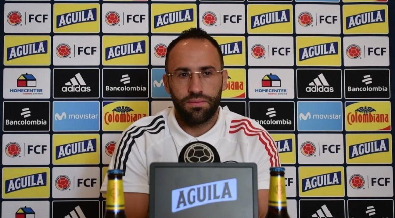 David Ospina y su respaldo para el jugador que reemplace a Dávinson en defensa