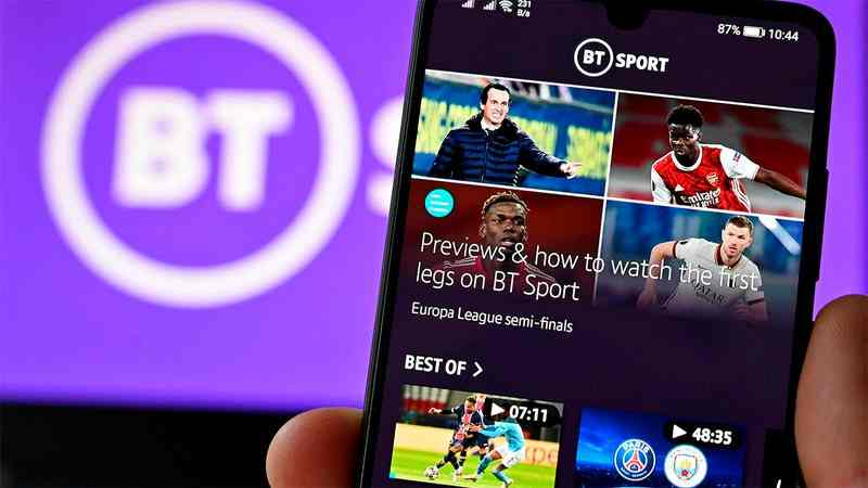 DAZN compraría el canal BT Sport en Inglaterra