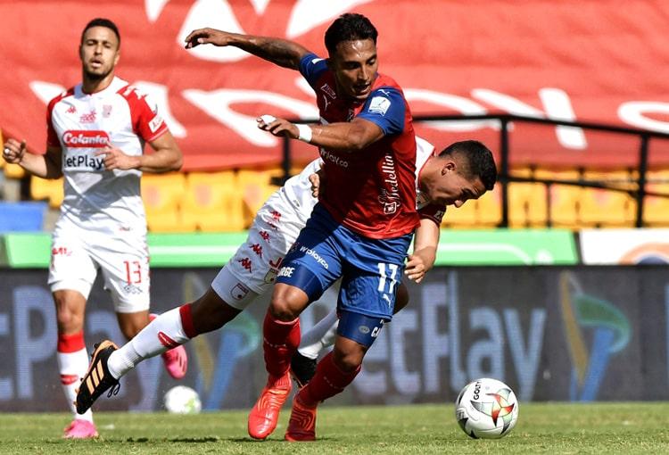 David Loaiza, Deportivo Independiente Medellín, DIM, DaleRojo, Liga BetPlay 2021-II, Deportes Quindío