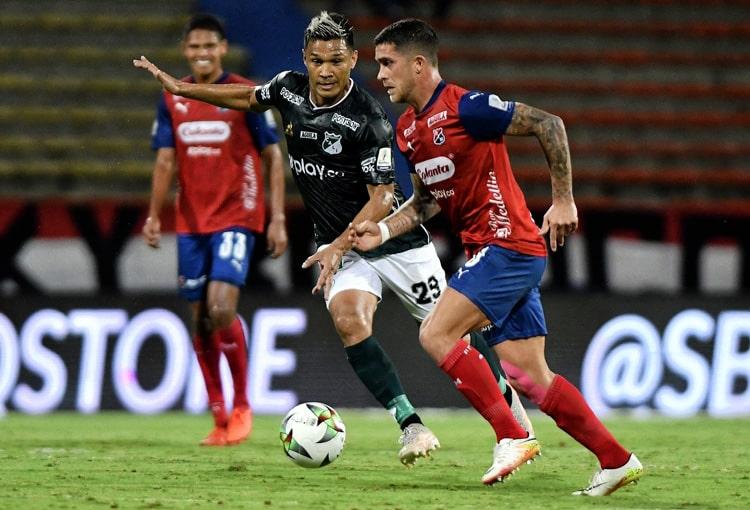 Deportivo Independiente Medellín, DIM, DaleRojo, Copa BetPlay 2021, ficha técnica, Deportivo Cali